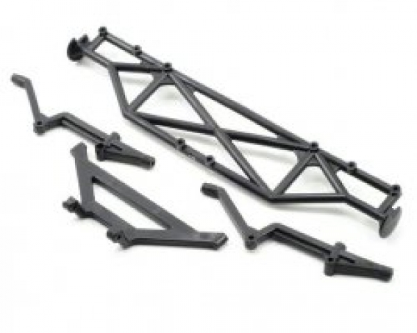 Associated SC10 Rear Bumper and Brace AS9817