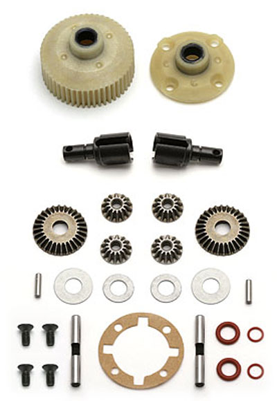 Associated Complete Diff Gear AS9827
