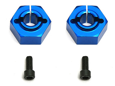 Image Of Associated 12mm Aluminum Clamping Wheel Hex (Buggy Rear)
