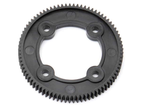 Image Of Associated B44.3 Gear Diff Spur Gear 81t