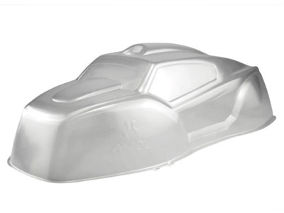 Image Of Axial Hardline Crawler Bodyshell .040 (Clear)