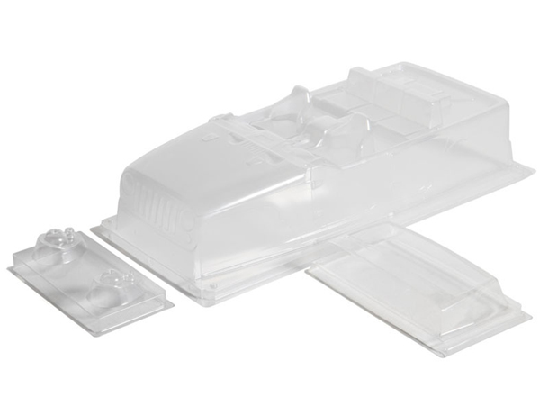 Image Of Axial Jeep Wrangler Unlimited Rubicon Shell .04'' (Clear)