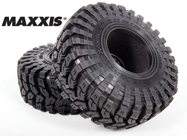 Image Of Axial 2.2 Maxxis Trepador Tyres - R35 Compound (2pcs)
