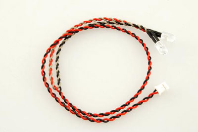 Axial Double LED Light String (Red) AX24253