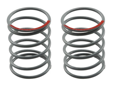 Axial SCX10 Optional Springs 12.5x20mm 3.6 lbs/in - Super Soft (Red) - (2) AX30200