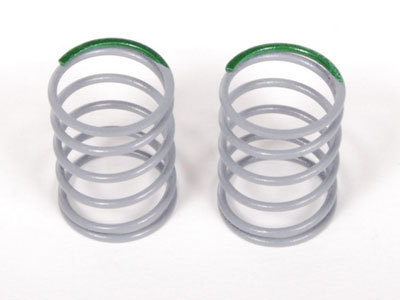 Image Of Axial SCX10 Optional Springs 12.5x20mm 5.44 lbs/in - Medium (Green) - (2)