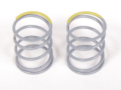 Image Of Axial SCX10 Optional Springs 12.5x20mm 6.53 lbs/in - Firm (Yellow) - (2)