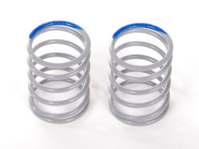 Image Of Axial SCX10 Optional Springs 12.5x20mm 7.95 lbs/in- Super Firm (Blue) - (2)