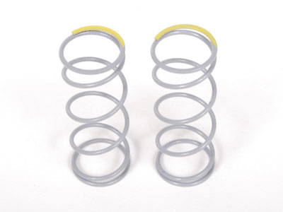 Image Of Axial SCX10 Optional Springs 12.5x40mm 5.44 lbs/in - Firm (Yellow) - (2)