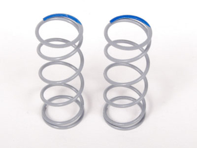 Image Of Axial SCX10 Optional Springs 12.5x40mm 6.81 lbs/in- Super Firm (Blue) - (2)