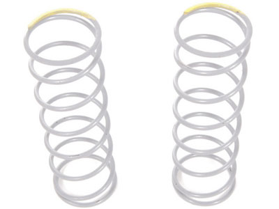Image Of Axial Spring 14x54mm 4.33 lbs/in - Firm (Yellow) - (2pcs)