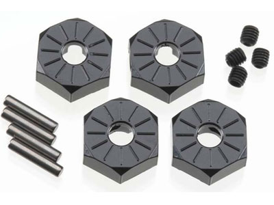 Image Of Axial SCX10 Narrow 12mm Hex Set Aluminium (4)