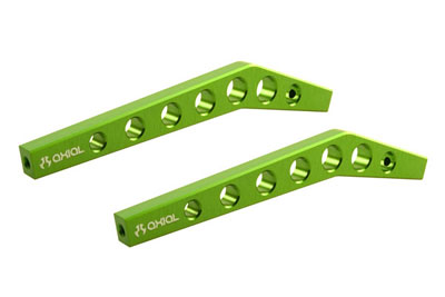 Image Of Axial Machined High Clearance Links (Green)