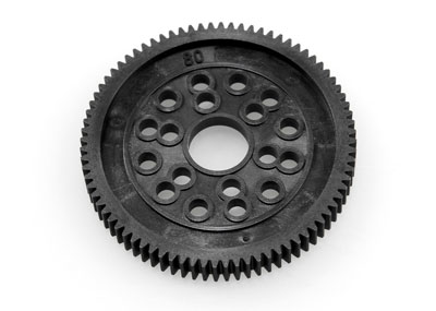 Image Of Axial Spur Gear 48Dp 80T