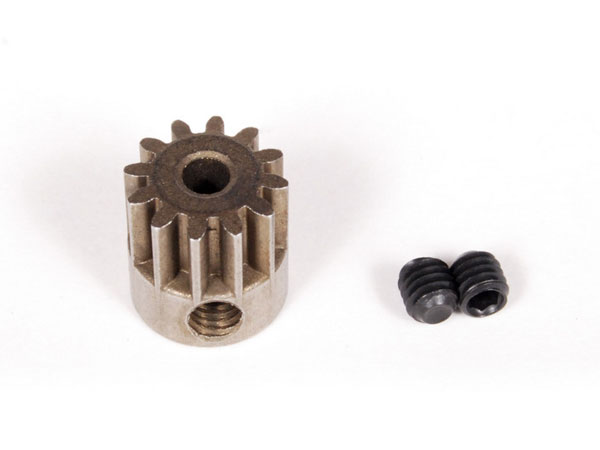 Image Of Axial Pinion Gear 32P 12T - Steel (3mm Motor Shaft)