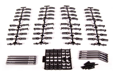 Axial Wraith Stage 1 Aluminum Links Kit AX30797