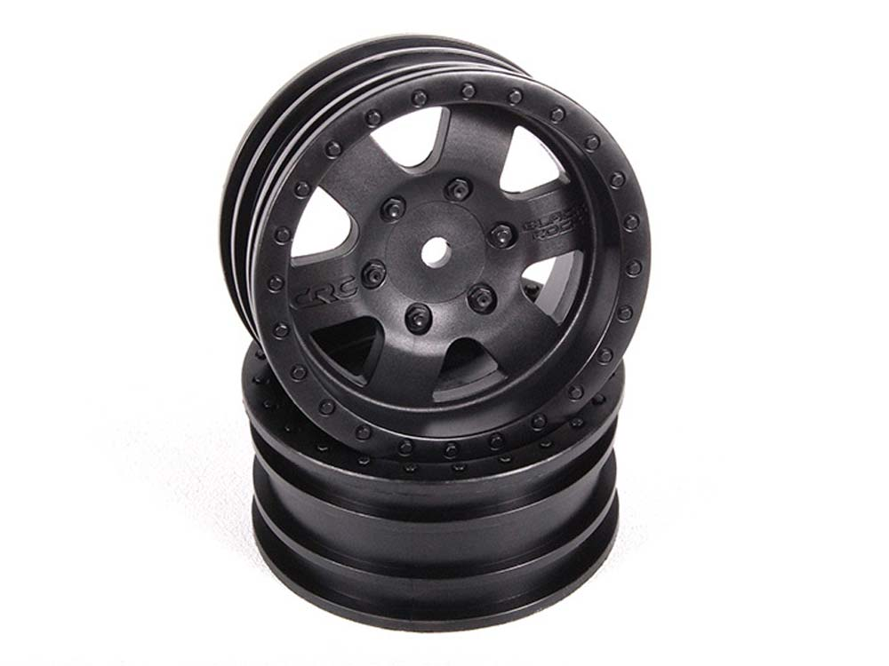 Axial 1.9 Black CRC WHeels - Black (2) AX31094