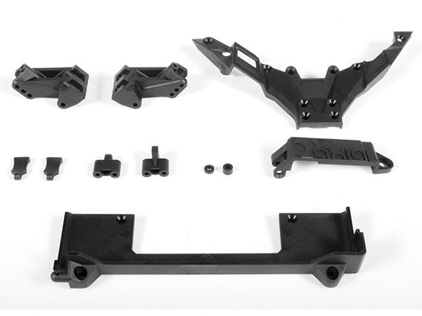 Image Of Axial Yeti Chassis Components
