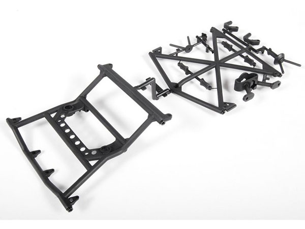 Axial Y-380 Cage Top Rear and Tyre AX31117