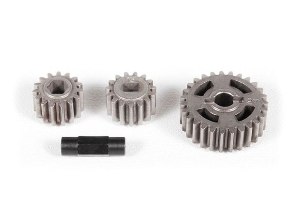 Image Of Axial T-Case Gear Set (32P 15T, 32P 15T, 32P 27T)