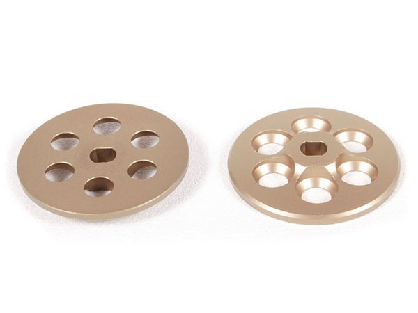 Image Of Axial Machined Slipper Plate (Hard Anodized) (2pcs)