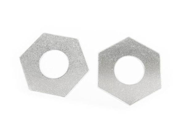 Axial Aluminium Slipper Pad 32.8x15.2x1mm (2) AX31243