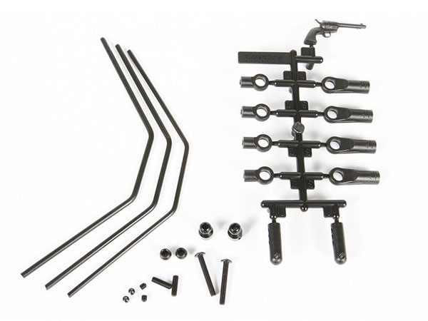 Image Of Axial Yeti XL Front Sway Bar Set (Soft, Medium and Firm)