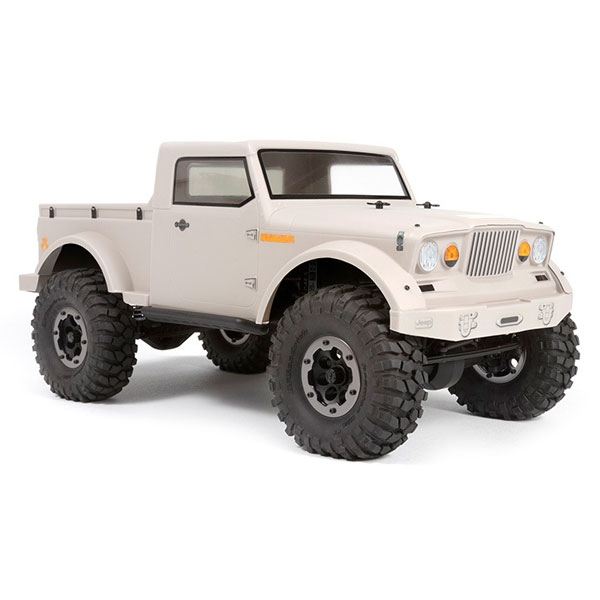 Image Of Axial Jeep NuKizer 715 Body - .040 (Clear)