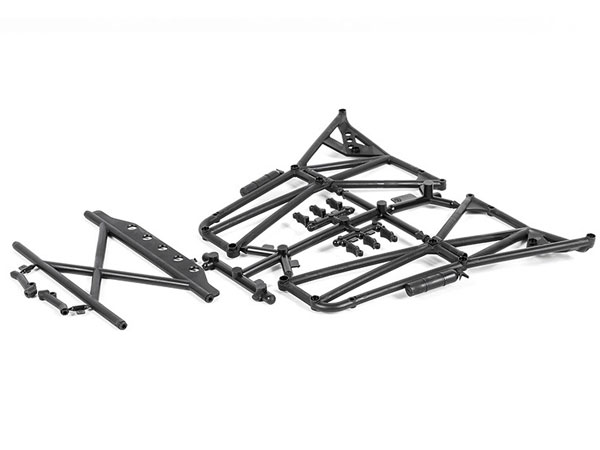Axial TT-380 Rear Cage Sides and Rear Upper Cage AX31304