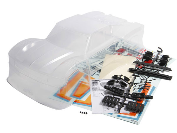 "Axial TT-380 SCORE Retro Trophy Truck Body - .040"" (Clear) AX31310"