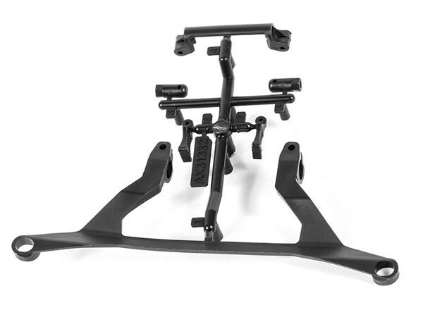 Image Of Axial RR10 Battery Tray Chassis Components 2