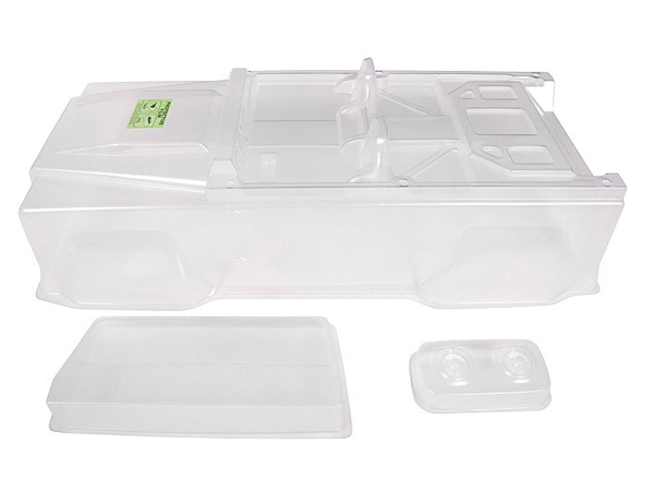 Image Of Axial Dingo Truck Bodyshell (Clear) - Shell Only