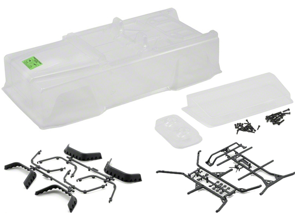 Axial Dingo Truck Body .040 Uncut (Clear) AX4010