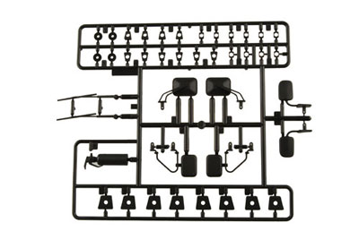 Axial Exterior Detail Parts Tree - Black AX80038