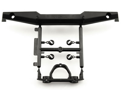 Image Of Axial 1/10th Scale Rear Plate Bumper Set