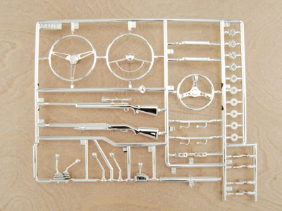 Image Of Axial Interior Details Parts Tree - Chrome