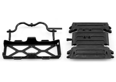 Image Of Axial Wraith Tube Frame Skid Plate/ BatteryTray