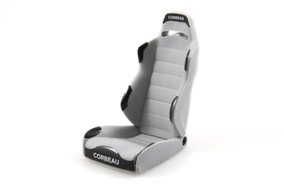Image Of Axial Corbeau LG1 Seats - Grey (2)
