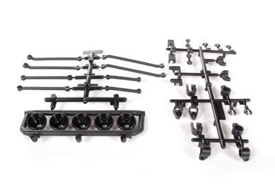 Image Of Axial Universal Mount 5 Light Bar (Black)