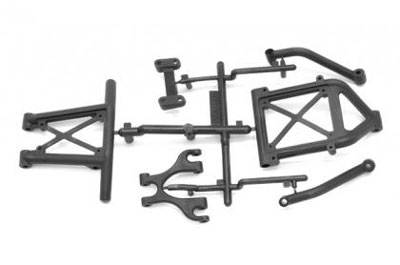 Image Of Axial EXO Tube Bumpers (FR&RR)