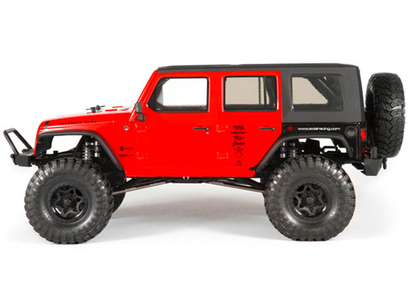 Axial Jeep Wrangler Rubicon : Axial scx jeep wrangler unlimited rubicon kit