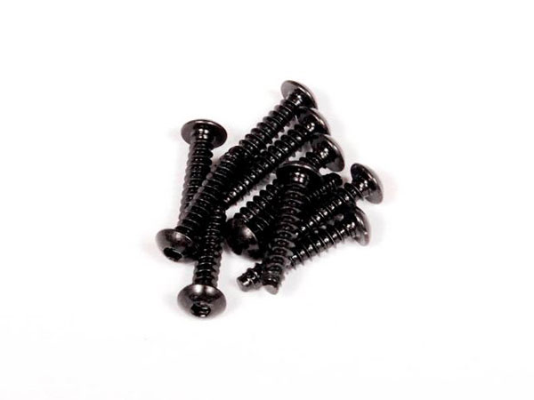 Image Of Axial 3x15mm Hex Socket Tapping Button Head (Black) (10pcs)