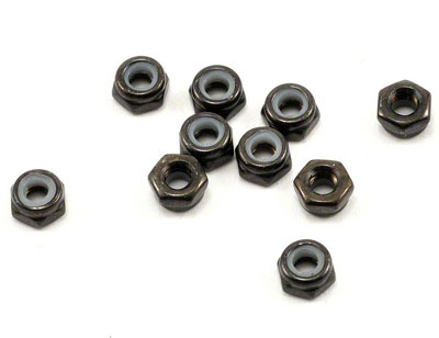 Image Of Axial M3 Thin Nylon Locking Hex Nut