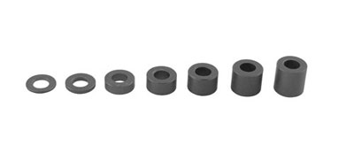 Axial 6x6MM Spacer - Grey AXA1418