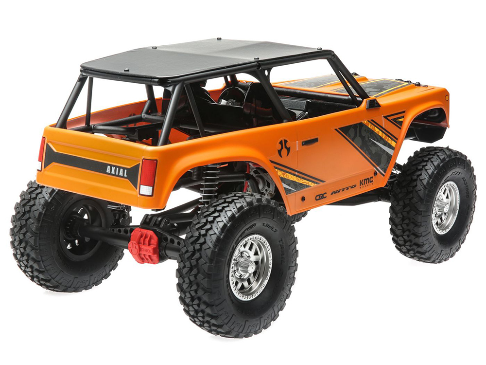 Axial 1/10 Wraith 1 9 4WD Brushed RTR - Orange AXI90074T1