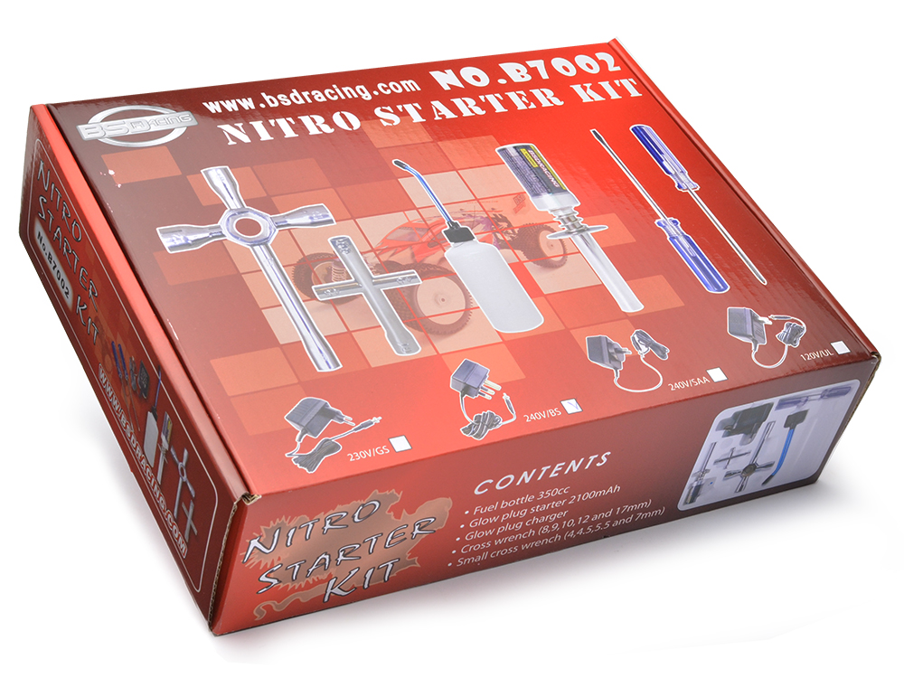 Image Of BSD Racing Nitro Starter Set