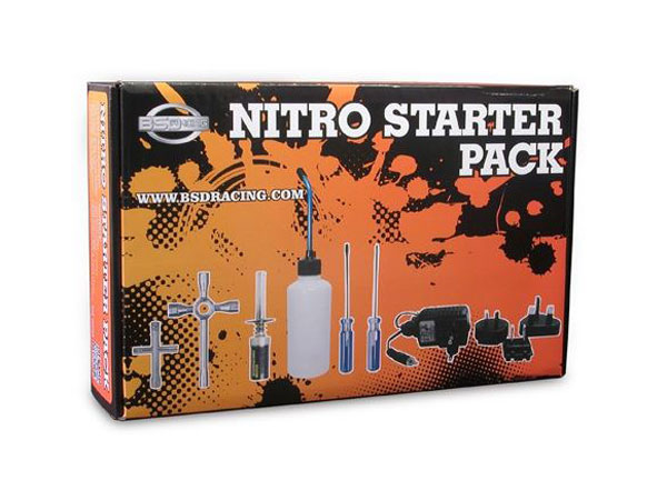 Image Of BSD Racing Nitro Starter Set - Multi