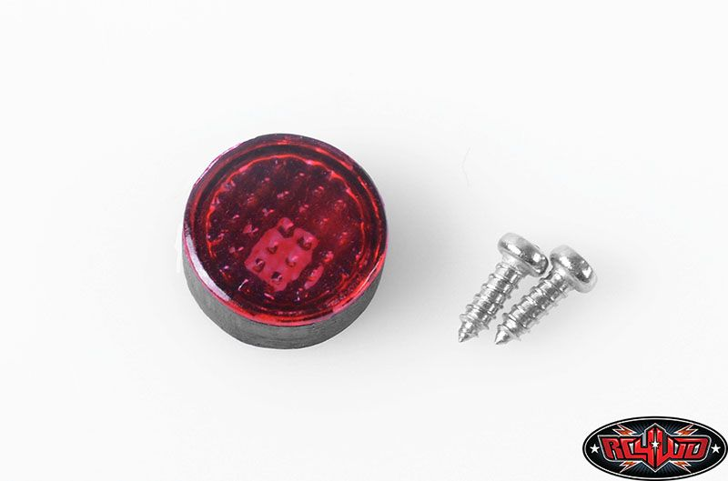 RC4WD 1/101/14 D90 Large Red Light (Detailed) VVV-C0091
