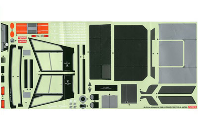 Kyosho Decal Sheet - Blizzard DF300 BL23