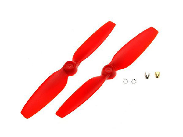 Blade 200 QX Red Propellers (2) BLH7708